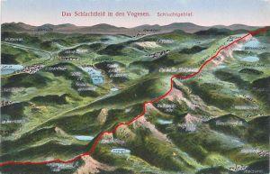 Blog Picture map Schlucht showing border