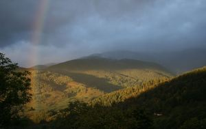 Rainbow over Reichackerkopf