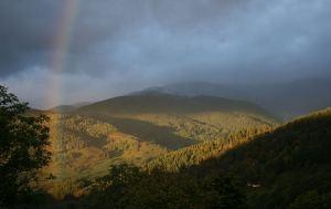 Rainbow over Reichackerkopf