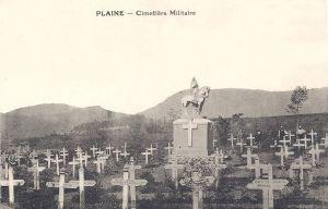 Plaine cimetière militaire