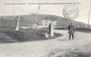 Ballon d'Alsace Borne Zéro posted Feb 1910