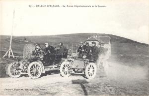 Ballon d'Alsace La Borne et le Sommet (cars)