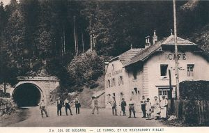 Col de Bussang after war