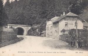 Col de Bussang côté de l'Alsace