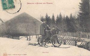 Vélo-ski posted 1910