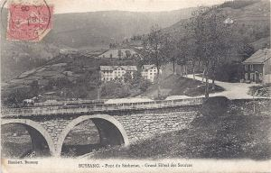 Bussang Pont de Sechenat Grand Hôtel des Sources