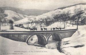 Bussang Pont de Sechenat winter