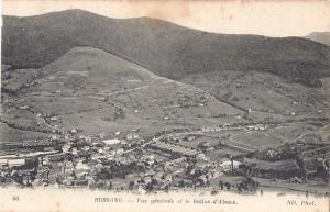 Bussang Vue générale et le Ballon-d'Alsace