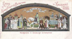 Visit of Kaiser Barbarossa 1164 Hagenau