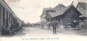 Col de la Schlucht German frontier & officer