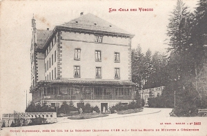 Col de la Schlucht Hotel Altenberg posted April 1915