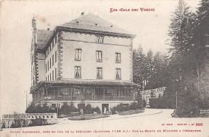 Col de la Schlucht Hotel Altenberg posted April 1915