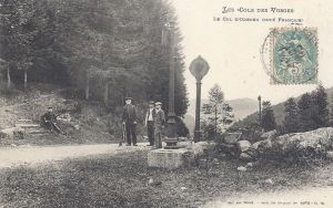 Col d'Oderen posted 1906