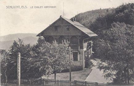 Col de la Schlucht Chalet Hartmann day scene