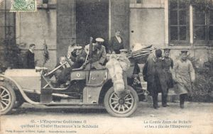 Col de la Schlucht Chalet Hartmann Kaiser visit query 28.07.1909