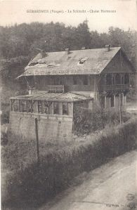 Col de la Schlucht Chalet Hartmann ruined