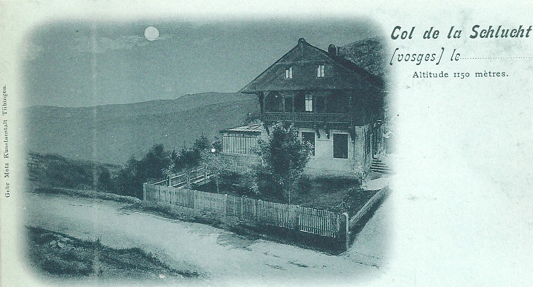 Chalet Hartmann: romance to ruins in 90 years
