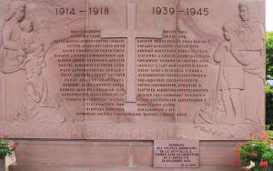 St-Hippolyte memorial