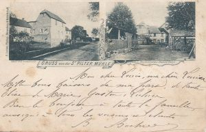 St-Hippolyte St Pilter Mühle posted 1900