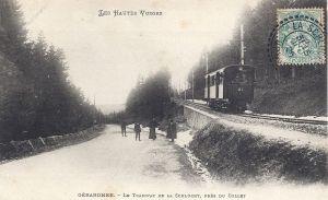 04 Col de la Schlucht le Collet tramway posted 1908