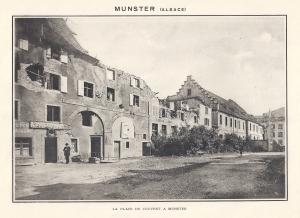 06 Album - Munster la place du Couvent