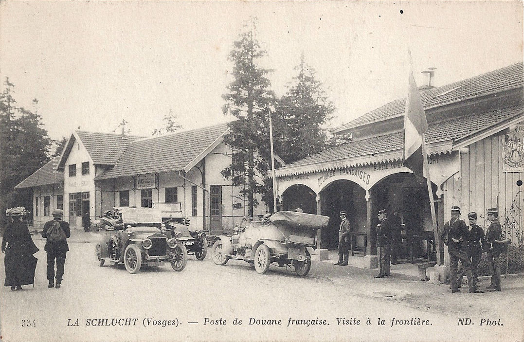 Tour de France Stage 9: July 13th, 2014. A view through oldpostcards