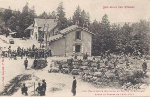 07 Col de la Schlucht grand'halte militaire avant la guerre
