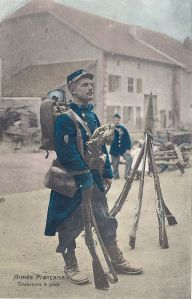07a Chasseurs à pied posted Schlucht 1910