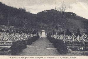 09   Munster cimetière posted 1925