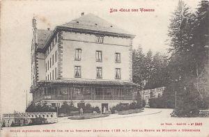 10 Col de la Schlucht Hotel Altenberg posted 1915