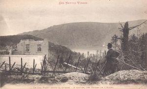 12 Lac Blanc après la guerre - ruines d l'hotel