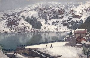 12a Lac Noir snow posted 1907