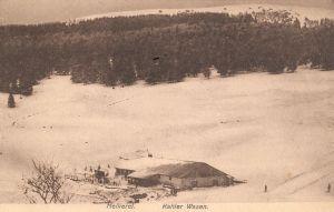 14 Kahlenwasen in snow, military postcard