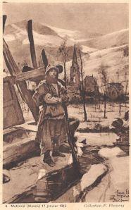 16c Metzeral 17 janvier 1916