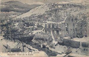 16d Metzeral pont de la Fecht postwar