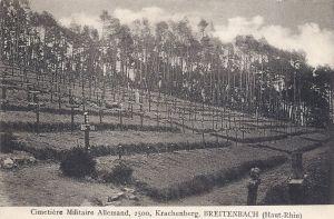 16e Breitenbach cimetière militaire allemand.