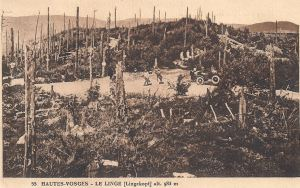 18 Le Linge with tourists posted 1925
