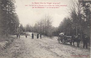 01 Col de la Chipote crossroads written 1916