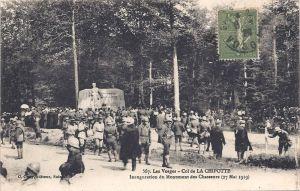 07 Col de la Chipotte inauguration Monument des Chasseurs