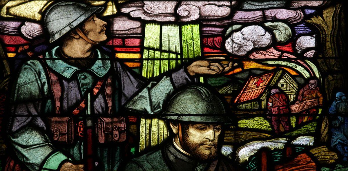 L'église de l'Emm, Mémorial de la Première Guerre mondiale: a post for 11th, 11th,2014.