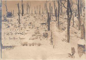 HWK German graves in the snow