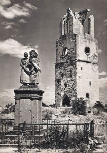 Bennwihr monument and church