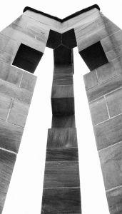 Croix du Moulin bw