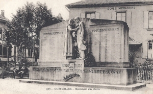 Guebwiller Monument aux Morts pre WW2