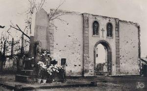 Illhausern église sinistrée